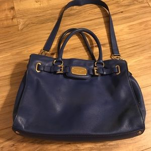 Electric Blue Michael Kors Handbag